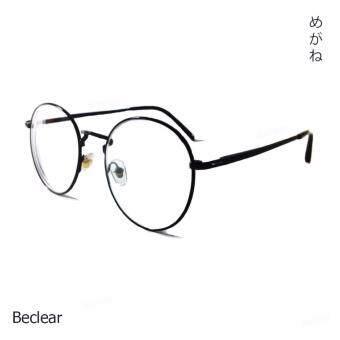 Beclear กรอบแว่นพร้อมเลนส์มีค่าสายตาสั้น -200 (สีดำ)