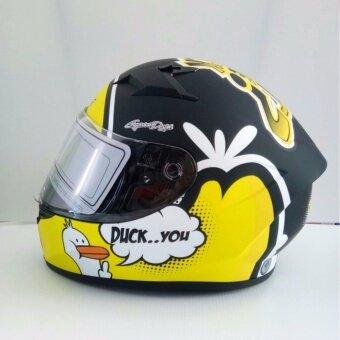 Bilmola หมวกกันน็อค Bilmola รุ่น Veloce / what the duck สีดำด้าน ตัวใหม่ล่าสุดที่พึ่งเปิดตัว