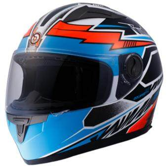 Bilmola หมวกกันน็อก หมวกกันน็อค หมวกกันน๊อก หมวกกันน๊อคBilmola Eclipse Thunder Bolt ขาว-ดำ (Big Bike and motorcycle Helmet)