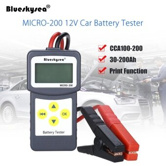 Blueskysea Portable MICRO-200 12V Auto Car Battery Load Tester Battery Analyzer - intl