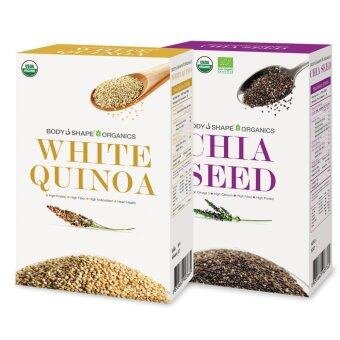 Body Shape Organics CHIASEED+WHITE QUINOA 320 กรัม