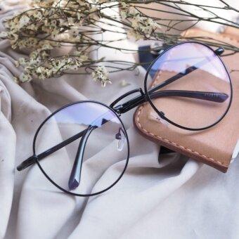 Botanic Glasses แว่นกรองแสง ทรงหยดน้ำ สีดำ