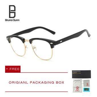 Bruno Dunn Brand แว่นกรองแสงสีฟ้า ถนอมสายตาพร้อมเลนส์ FOCUS ตัดแสงฟ้า 90% พร้อมกัน UV400 TR90 frame อ่านแว่นตาสำหรับผู้ชายผู้หญิง 5162
