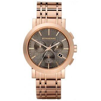 Burberry BU1862 Men's Chronograph Rose Gold Watch