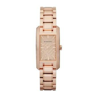 Harga Burberry Women's Watch Rose Gold Stainless Steel StrapBU9502(Black)