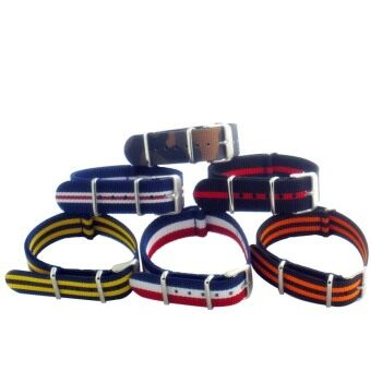 Buy 1 Get 6 Twinklenorth 20mm 6 Colors Nato Strap Nylon Military Watch Band Strap Watchband NATO-016