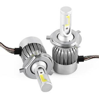 C9 55W 4600 Luminous Flow COB Headlight Car LED Headlamp DRL FogLamp Bulbs Auto Styling H4 - intl
