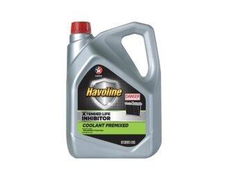 CALTEX สุดคุ้มซื้อ 1แถม1 น้ำยาหม้อน้ำ ชนิดไม่ต้องผสมน้ำ ฮาโวลีน XLI 4L ฟรี 4L