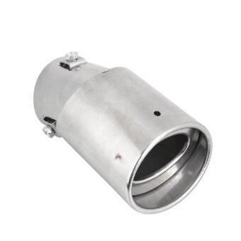 ซื้อ Car Auto Vehicles Stainless Steel Nozzle Bent Exhaust Pipe TubingTube - intl