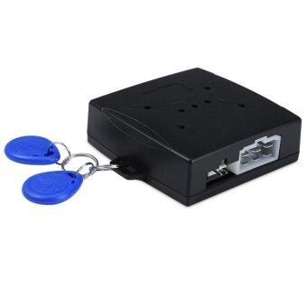 Car Engine Push Start Button RFID Lock Ignition Starter KeylessEntry Start Stop Immobilizer - intl
