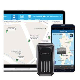 CAR GPS C1 เครื่องติดตามยานพาหนะ แสดงผลแบบ Real Time ระบบกันน้ำ อุปกรณ์ติดตามรถ ป้องกันขโมย