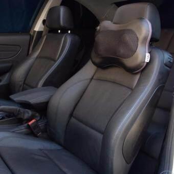 Car Massage Pillow หมอนนวดในรถ เครื่องนวดไฟฟ้าเบาะนวดไฟฟ้า หมอนนวดคอระบบอินฟาเรดสำหรับในบ้านและรถยนต์ Neck Massage Pillow - 2
