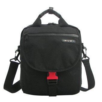 Carry-All กระเป๋าสะพายข้าง รุ่น13805 สีดำ