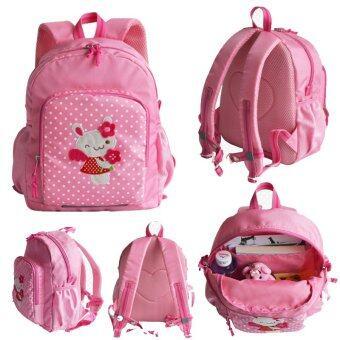 Cartoon Lovely Pattern Handmade Children's school bags for boys andgirls baby backpack(Pink)