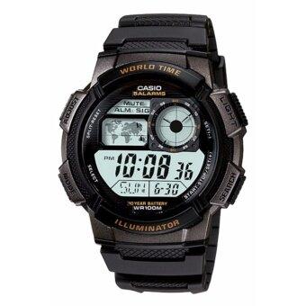 นาฬิกาข้อมือ ดิจิตอล CASIO AE-1000W สีดำ ของแท้100%