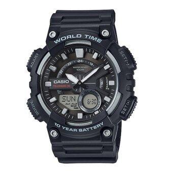 Casio นาฬิกา รุ่น AEQ-110W-1AV (สินค้าใหม่ล่าสุด)