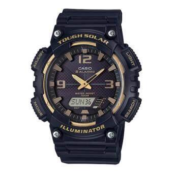 Casio นาฬิกาข้อมือผู้ชาย สายเรซิ่น รุ่น AQ-S810W-1A3