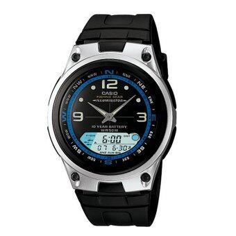Casio AW-82-1AVDF นาฬิกาผู้ชาย สายเรซิ่น รับประกันศูนย์ 1 ปี