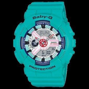 ประเทศไทย Casio Baby-G BA-110SN-3A Blue