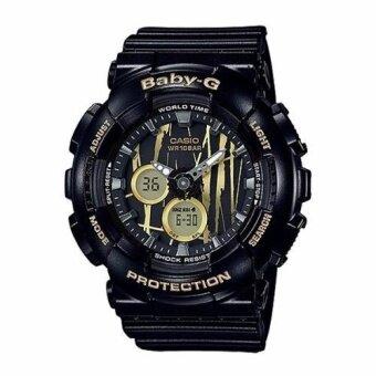 Casio Baby-G BA-120SP-1A Neobrite Shock Resistant Watch for Women Black - intl