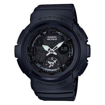 Casio Baby-G นาฬิกาข้อมือผู้หญิง สายเรซิ่น รุ่น BGA-190BC-1