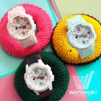 Casio Baby G นาฬิกาข้อมือ สีขาว สายเรซิน รุ่น BG 6901 7DR