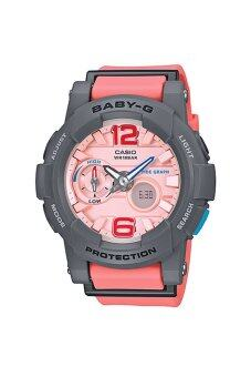 Casio BABY-G G-LIDE Rasin Strap รุ่น BGA-180-4B2 - Pink