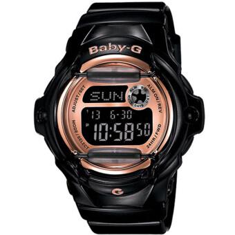Casio Baby-G นาฬิกาข้อมือผู้หญิง สายเรซิ่น รุ่น BG-169G-1 - สีดำ
