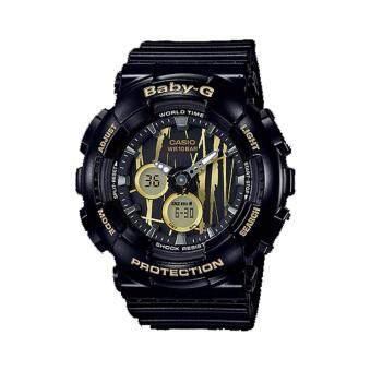 Casio Baby-G นาฬิกาข้อมือสุภาพสตรี รุ่น BA-120SP-1A (สีดำ)