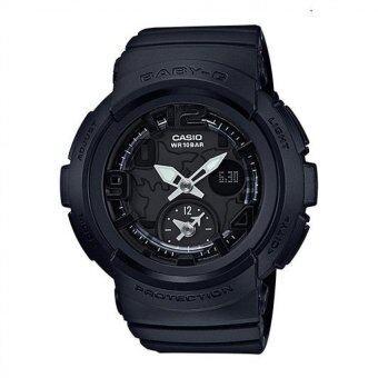 Casio นาฬิกาข้อมือเรซิ่นหญิง รุ่น Baby-G สีดำ
