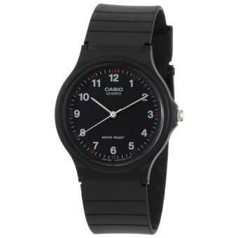 ประเทศไทย Casio นาฬิกาข้อมือผู้ชาย สายยาง (black) รุ่น MQ-24-1BLDF