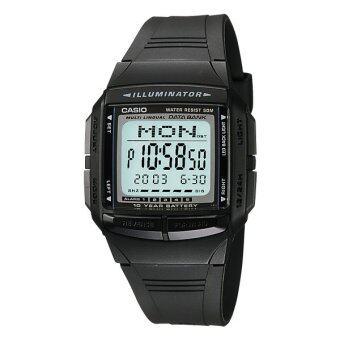Casio Data Bank นาฬิกาข้อมือ รุ่น DB-36-1A - Black
