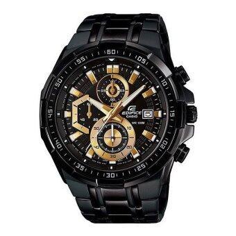 Casio Edifice นาฬิกาข้อมือผู้ชาย Chronograph รุ่น EFR-539BK-1AV (สีดำ)
