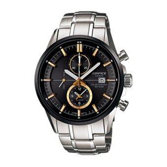 Casio นาฬิกาผู้ชาย สายสเตนเลส Edifice รุ่น EFB-503SBDB-1AVDR - สีเงิน
