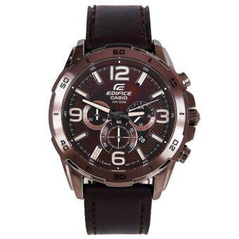 ประเทศไทย Casio Edifice นาฬิกาข้อมือชาย รุ่น EFR-538L-5AVUDF - brown