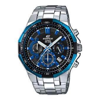 Casio Edifice นาฬิกาข้อมือผู้ชาย สายสแตนเลส รุ่น EFR-554D-1A2VUDF (สีน้ำเงิน/สีดำ)