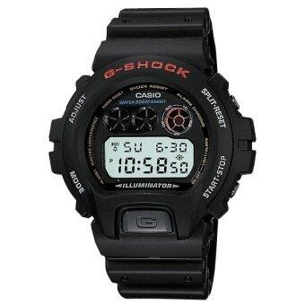 Casio G-Shock สายเรซิ่น รุ่น DW-6900-1VDR - สีดำ