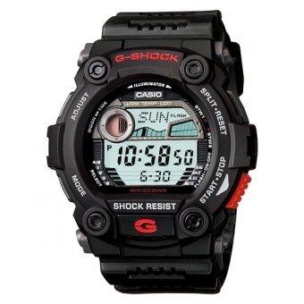 Casio g-shock นาฬิกาข้อมือผู้ชาย สีดำ สายเรซิ่น รุ่น G-7900-1DR