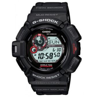CASIO G-SHOCK รุ่น G-9300-1DR (CMG) นาฬิกาข้อมือ สายเรซิ่น สีดำ mudman