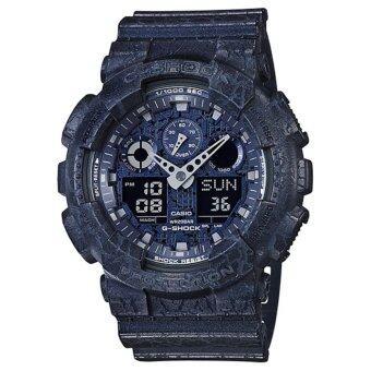 ประเทศไทย Casio G-Shock นาฬิกาข้อมือรุ่น GA-100CG-2ADR - ประกัน CMG 1 ปี