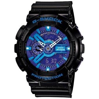 Casio G-Shock นาฬิกาข้อมือสุภาพบุรุษ สีดำ สายเรซิน รุ่น GA-110HC-1ADR
