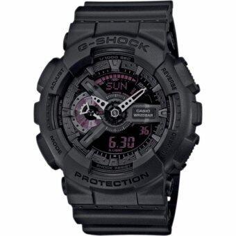 ประเทศไทย CASIO G-Shock นาฬิกาข้อมือผู้ชาย สีดำ สานเรซิน รุ่น GA-110MB-1A