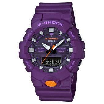 Casio G-Shock นาฬิกาข้อมือผู้ชาย สายเรซิ่น รุ่น GA-800SC-6A