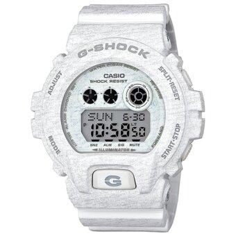 ราคา Casio G-Shock นาฬิกาข้อมือผู้ชาย สีขาว สายเรซิ่น รุ่น GD-X6900HT-7CR
