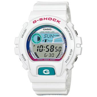 ประเทศไทย Casio G-Shock นาฬิกาข้อมือผู้ชาย สายเรซิ่น รุ่น GLX-6900-7 - สีขาว