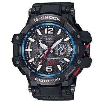 2561 Casio G-Shock นาฬิกาข้อมือผู้ชาย สายเรซิ่นผสมคาร์บอนไฟเบอร์ รุ่น GPW-1000-1A - สีดำ