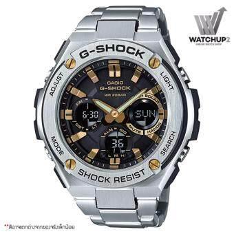 ประเทศไทย Casio นาฬิกาข้อมือ G-Shock สายแสตนเลส รุ่น GST-S110D-1A9