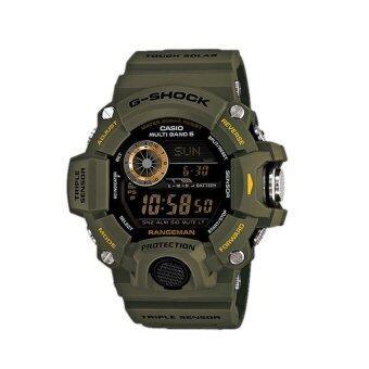 ประเทศไทย Casio นาฬิกาข้อมือ G-Shock รุ่น GW-9400-3DR - Green