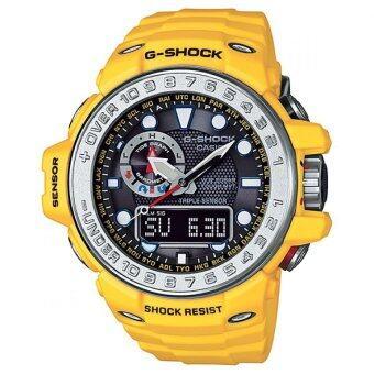 CASIO G-Shock นาฬิกาข้อมือผู้ชาย สายเรซิ่น รุ่น GWN-1000-9ADR