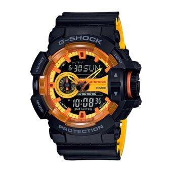 Casio G-Shock Men's Black Resin Strap Watch GA-400BY-1A
